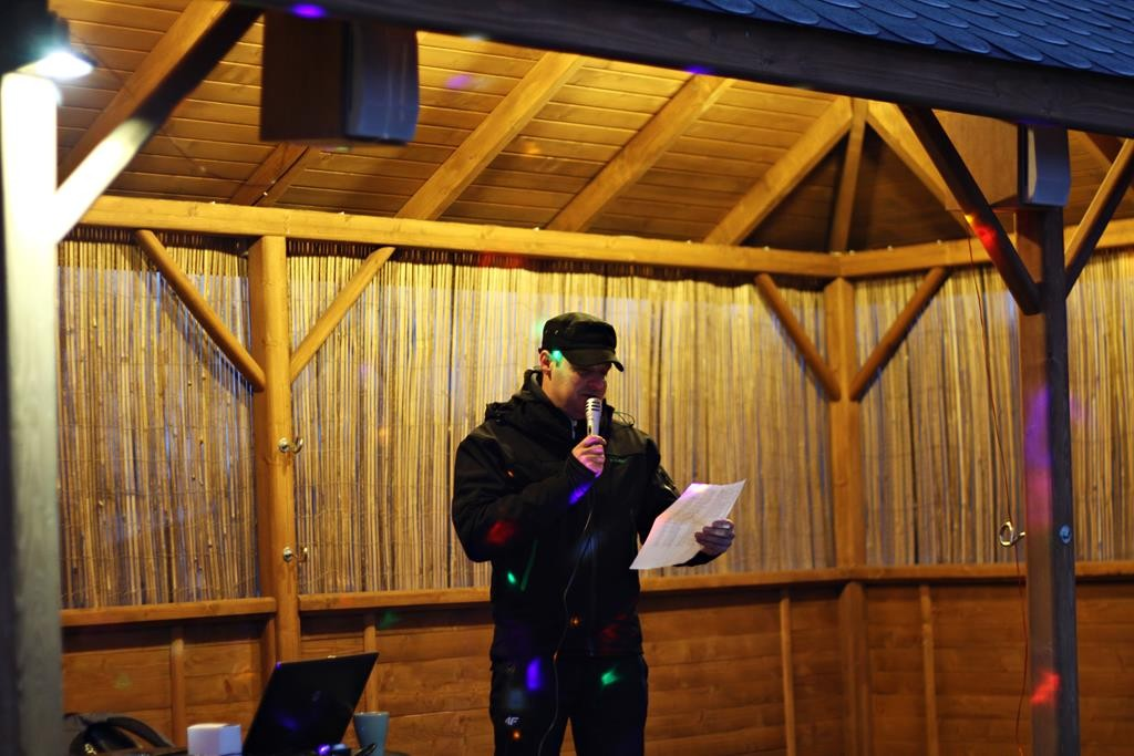 Altana imprezowa karaoke Świetny Spokój u Rybaków