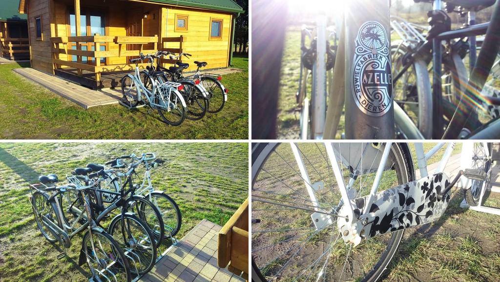 Wypożyczalnia rowerów Ośrodka Wypoczynkowego Świetny Spokój u Rybaków